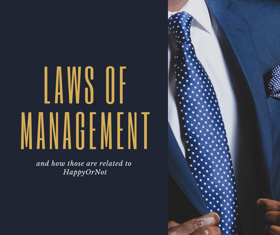 経営の法則とHappyOrNot